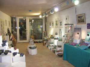 Unearth Gallery interior