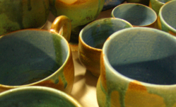 Unearth pottery
